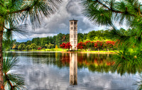 Furman Bell Tower in Travelers Rest